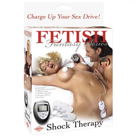 FETISH FANTASY SHOCK THERAPY KIT - ESTIMULADOR ELÉCTRICO