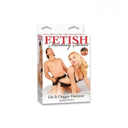 FETISH FANTASY DO IT DOGGIE HARNESS PIPEDREAM - ARNÉS PARA HACERLO DE PERRITO