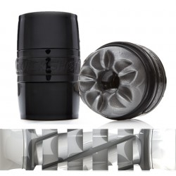 FLESHLIGHT QUICKSHOT BOOST BLACK / MASTURBADOR NEGRO