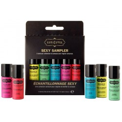 SEXY SAMPLER - KIT CON 5 MINI BOTELLAS DE DIFERENTES ESTIMULANTES