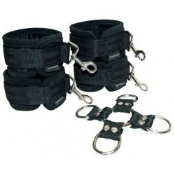5-Piece Hog Tie & Cuff Set / Juego de amarres de 5 piezas