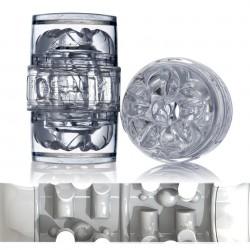 FLESHLIGHT QUICKSHOT VANTAGE ICE BRENT CORRIGAN / MASTURBADOR TRANSPARENTE