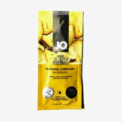 JO® H2O JUICY PINEAPPLE - Lubricante base agua con sabor de 10ml
