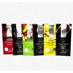 JO® H2O Flavors Sample Set - Paquete de 6 lubricantes base agua con sabor de 10ml