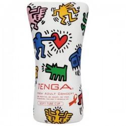 Tenga Keith Haring Soft Tube Cup - Masturbador Japonés