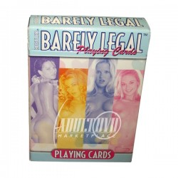 HUSTLER BARELY LEGAL PLAYING CARDS - CARTAS DE POCKER